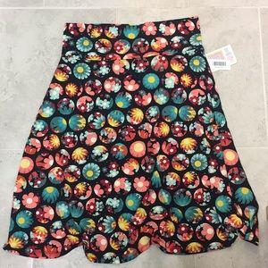 Lularoe azure skirt 2xl nwt